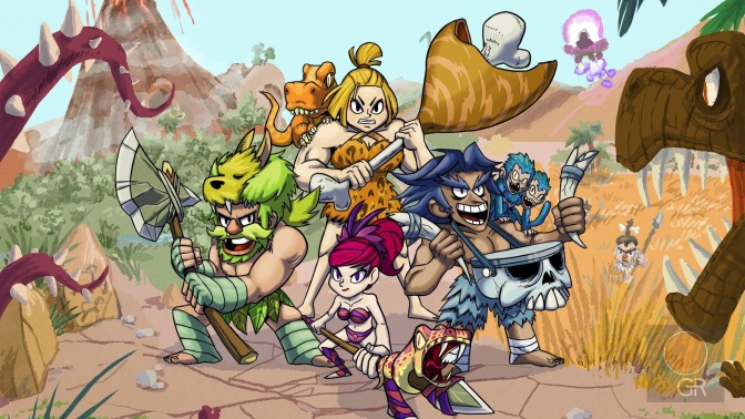 caveman warriors heros