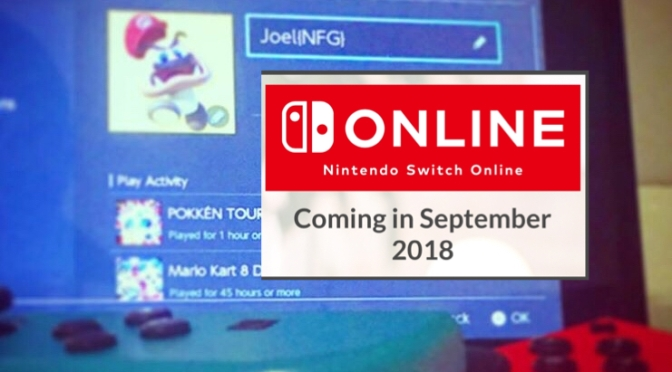 Nintendo switch online reveal coming early May