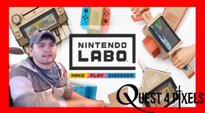 Nintendo Labo Unboxing