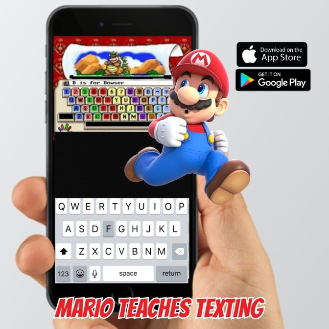 Press Release: Mario Teaches Texting Out Now!