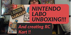 Mandy Lee Plays: Labo Unboxing & RC Car