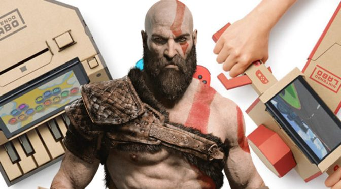 nintendo God of war Labo