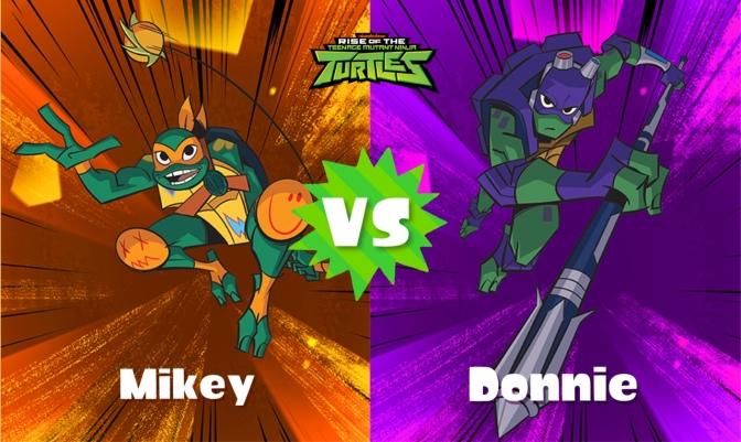 Teenage Mutant Ninja Turtles Splatfest round two