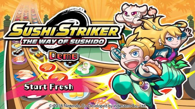 Sushi Strikers the way of sushido