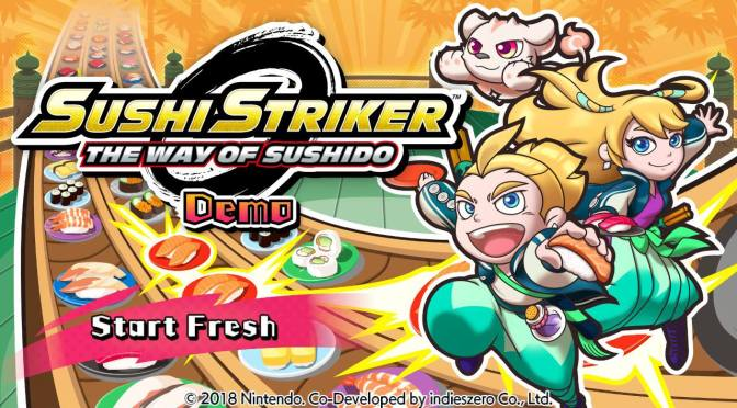 Sushi Strikers the way of sushido