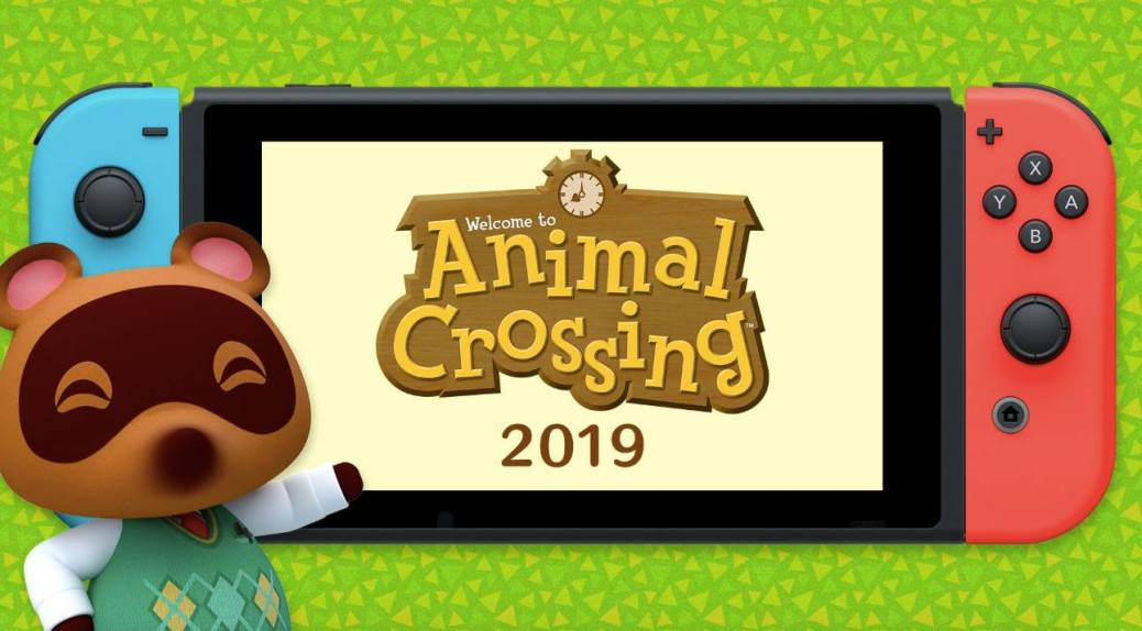 animcal crossing nintendo switch
