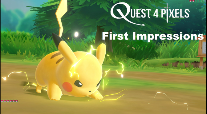 Pokemon Let's Go: First Hands-On Impressions